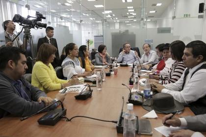 La Comisión de Soberanía Alimentaria lideró la consulta prelegislativa del proyecto de Ley de Soberanía Alimentaria. Foto - Archivo
