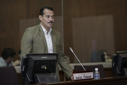 Asambleísta Raúl Tobar. Foto - Asamblea
