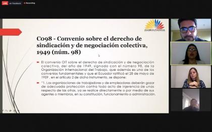 Comisión de los Derechos de los Trabajadores, proyecto para el fortalecimiento de las organizaciones de trabajadores,