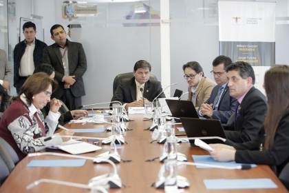 Comisión del Derecho a la Salud. Foto - Archivo