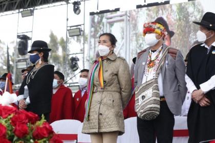 Presidenta de la Asamblea reconoce a un Ecuador de inclusión y reconciliación
