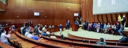 Campesinos y productores agropecuarios destacan apertura de la Asamblea para escuchar sus demandas