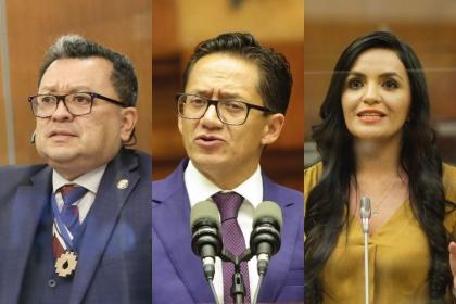 Pleno inicio juicio político escuchando pruebas de cargo y descargo