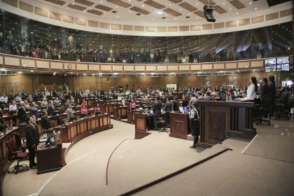 Proyecto de resolución que condena expresiones racistas a debate en el Pleno. Foto - Archivo